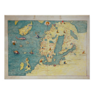 Northern Europe Poster