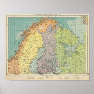 Northern European ports Poster
