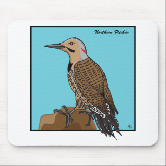 NORTHERN FLICKER MOUSE PAD