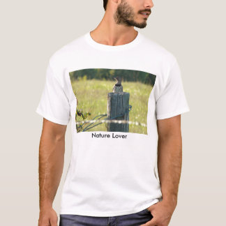 Northern Flicker On A Post, Nature Lover T-Shirt