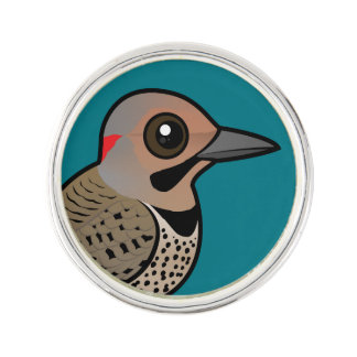 Northern Flicker (yellow-shafted) Lapel Pin