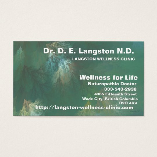 NORTHERN FOREST CANOPY BUSINESS CARD