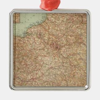 Northern France 3234 Metal Ornament