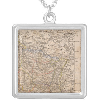 Northern France Square Pendant Necklace