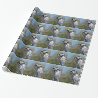 Northern Gohawk Close Up Wrapping Paper