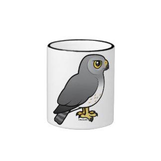 Northern Harrier male Ringer Mug