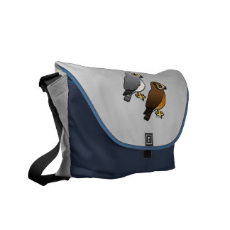Northern Harrier pair Courier Bag