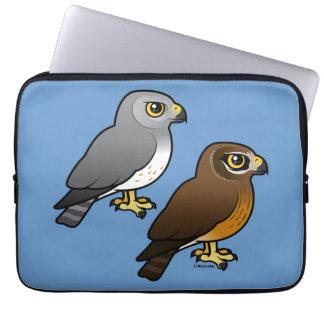 Northern Harrier pair Laptop Sleeve