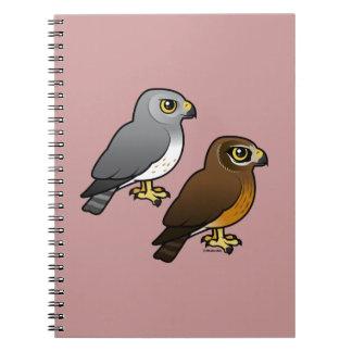 Northern Harrier pair Notebook