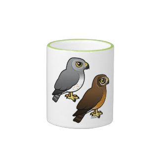 Northern Harrier pair Ringer Mug
