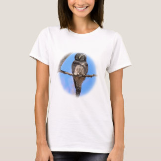 Northern Hawk Owl 4A T-Shirt