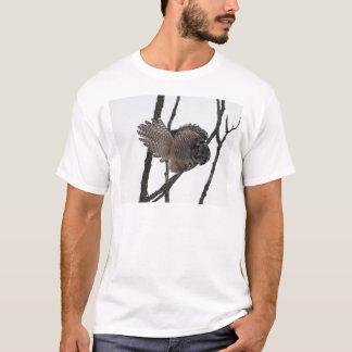 Northern Hawk Owl 6 T-Shirt