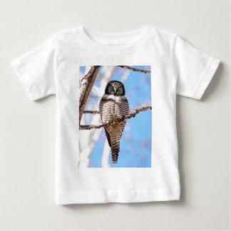 Northern Hawk Owl Baby T-Shirt