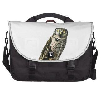 Northern Hawk Owl Laptop Commuter Bag