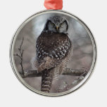 Northern Hawk Owl Ornament