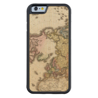 Northern Hemisphere 2 Carved Maple iPhone 6 Bumper Case