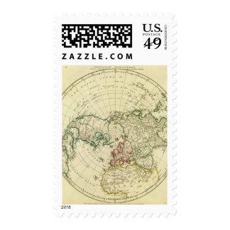 Northern Hemisphere 2 Postage Stamps
