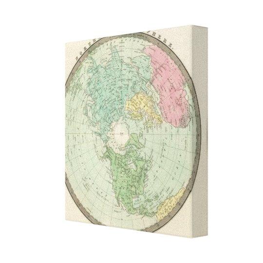 Northern Hemisphere 3 Canvas Print
