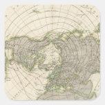 Northern Hemisphere 3 Square Sticker