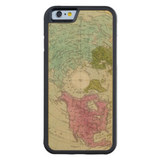 Northern Hemisphere 4 Carved Maple iPhone 6 Bumper Case