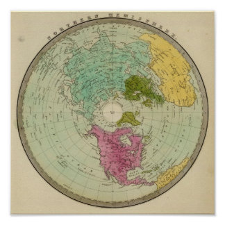 Northern Hemisphere 4 Poster