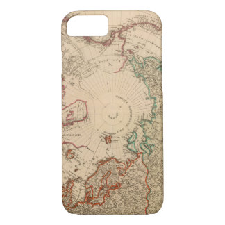 Northern Hemisphere, Arctic iPhone 8/7 Case