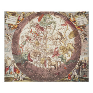 Northern  Hemisphere, from 'The Celestial Poster