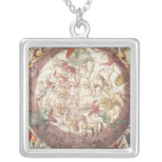 Northern  Hemisphere, from 'The Celestial Square Pendant Necklace