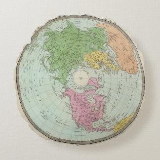 Northern Hemisphere Round Pillow