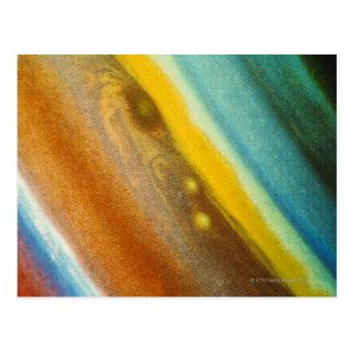Northern Hemisphere of Saturn Postcard