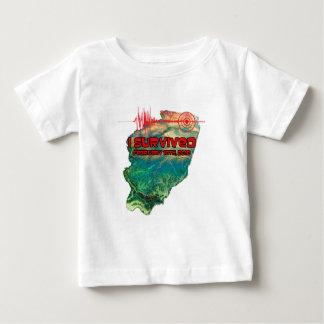 Northern Illinois Earthquake Baby Shirt