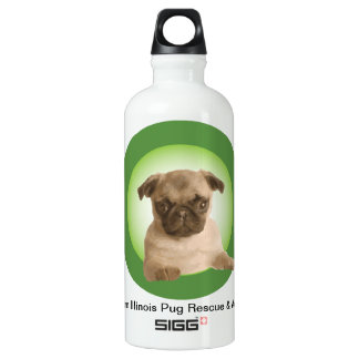 Northern Illinois Pug Rescue SIGG Traveler 0.6L Water Bottle