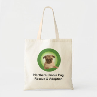 Northern Illinois Pug Rescue Tote