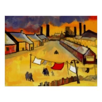 NORTHERN INDUSTRIAL TOWN print