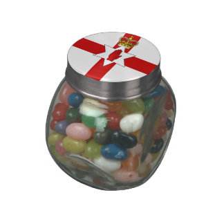 Northern Ireland Jelly Belly Candy Jars