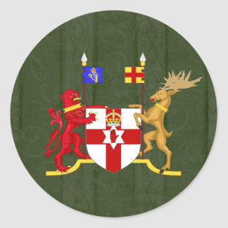 Northern Ireland Coat of Arms Stickers