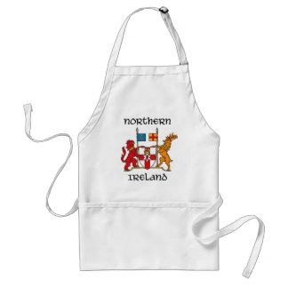 Northern Ireland - coat of arms/symbol/emblem Adult Apron