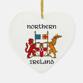 Northern Ireland - coat of arms/symbol/emblem Ceramic Ornament