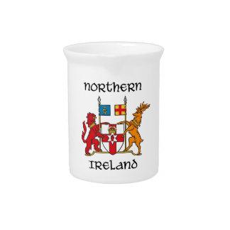 Northern Ireland - coat of arms/symbol/emblem Pitchers