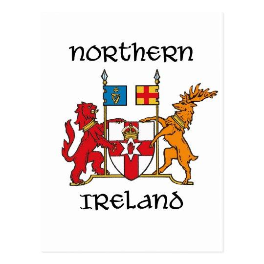Northern Ireland Coat Of Armssymbolemblem Postcard Zazzle