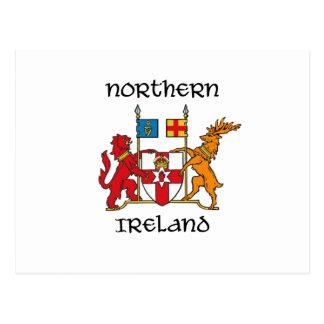 Northern Ireland - coat of arms/symbol/emblem Postcard
