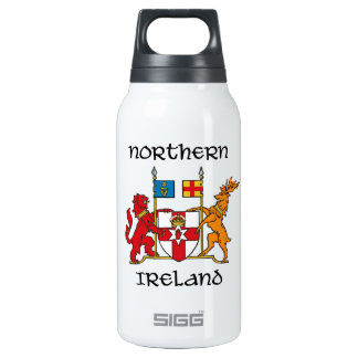 Northern Ireland - coat of arms/symbol/emblem 10 Oz Insulated SIGG Thermos Water Bottle