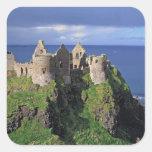 Northern Ireland, County Antrim, Dunluce Square Sticker