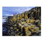 Northern Ireland, County Antrim, Giant's Postcard