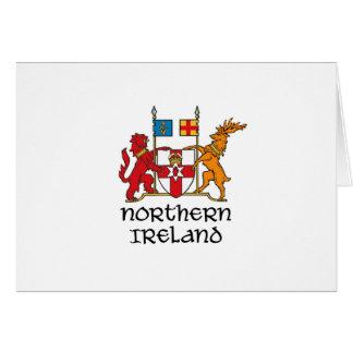 NORTHERN IRELAND - flag/coat of arms/emblem/symbol Card