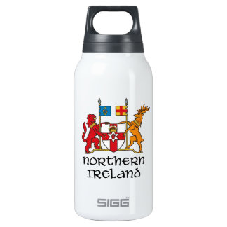 NORTHERN IRELAND - flag/coat of arms/emblem/symbol 10 Oz Insulated SIGG Thermos Water Bottle