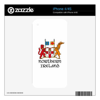 NORTHERN IRELAND - flag/coat of arms/emblem/symbol Skin For The iPhone 4