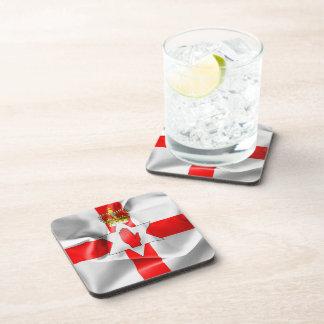 Northern Ireland Flag Beverage Coasters