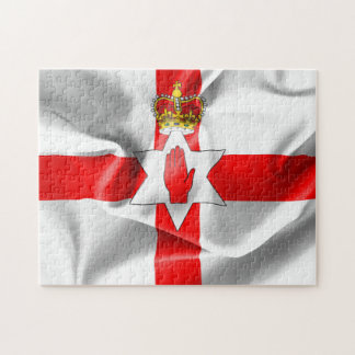 Northern Ireland Flag Jigsaw Puzzle