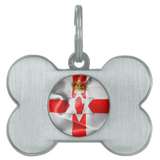 Northern Ireland Flag Pet ID Tag